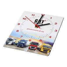 Orologio da parete rettangolare Brite-Clock® - colore Nero