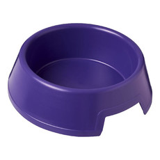 Ciotola in plastica per cani  - colore Porpora