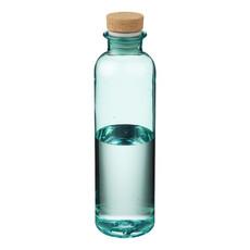 Bottiglia 650ml con tappo a pressione in sughero - colore Seaglass