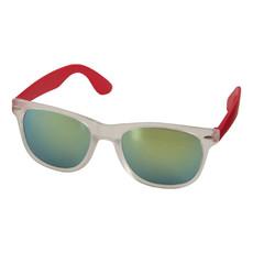 Occhiali da sole con lenti a specchio - colore Rosso