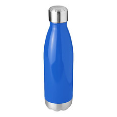 Borraccia termica in acciaio inox 510 ml - colore Blu