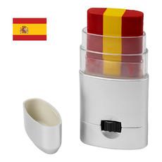 Pittura viso per tifosi sportivi - colore Silver - Spain