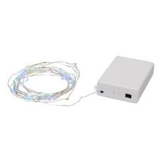 Ghirlande da 50 Led attivate dal suono - colore Bianco