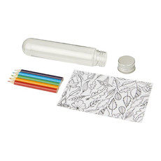Mini set per scarabocchi in tubo - colore Trasparente
