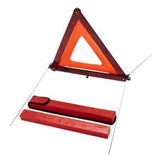 Triangolo di sicurezza in custodia - colore Rosso