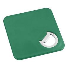 Apribottiglie e sottobicchiere 2 in 1 - colore Verde
