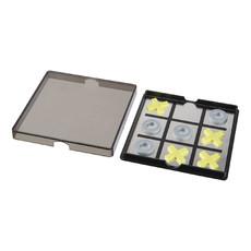 Gioco magnetico tris - colore Nero/Trasparente