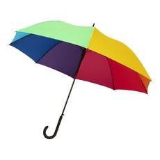 """Ombrello antivento 23"""" ad apertura automatica - colore Arcobaleno"""