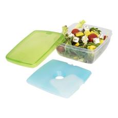 Portapranzo con scomparto rerigerante - colore Verde