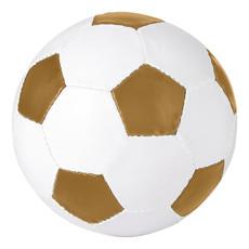 Pallone da calcio a doppio strato - colore Bianco/Oro