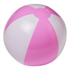 Pallone da spiaggia Funny - colore Bianco/Rosa
