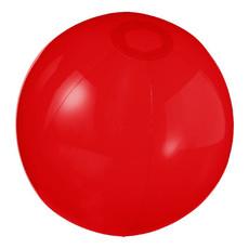 Pallone da spiaggia trasparente Ryo - colore Rosso Trasparente