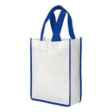Shopper piccola Raimbow - colore Bianco/Blu