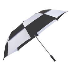 Ombrello pieghevole 30'' Bianco/Nero - colore Nero/Bianco