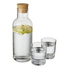 Set caraffa e bicchieri - colore Trasparente