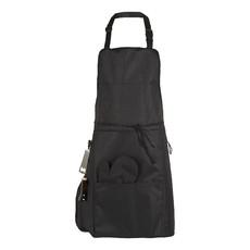 Grembiule BBQ con tasca termica - colore Nero