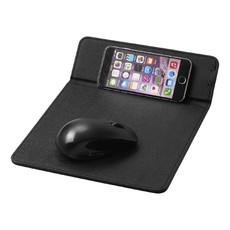 Tappetino mouse con ricarica wireless - colore Nero