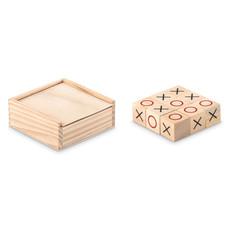 Gioco del tris in legno colore legno MO9493-40