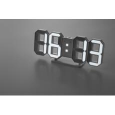 Orologio sveglia a LED con adattatore colore bianco MO9509-06