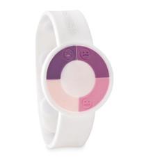 Bracciale rilevatore raggi UV colore bianco MO9589-06