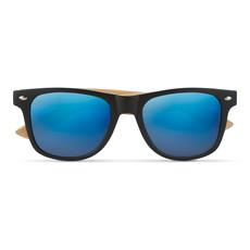 Occhiali da sole in bamboo colore blu MO9617-04