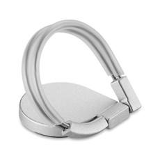 Portacellulare con gancio ad anello colore argento MO9657-14