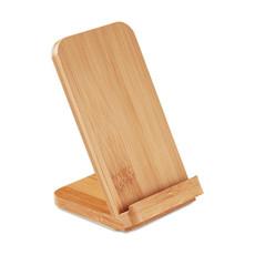 Caricatore wireless e stand in bamboo colore legno MO9692-40