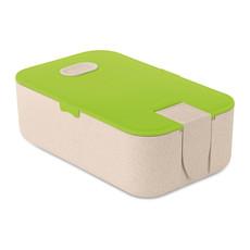 Portapranzo in fibra di grano colore lime MO9739-48