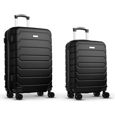 Set trolley in ABS colore nero MO9697-03