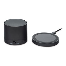 Speaker Bluetooth con caricatore wireless colore nero MO9713-03