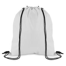 Sacca zainetto con coulisse colore bianco MO9828-06