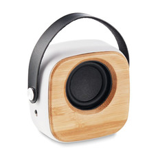 Speaker 3W in bamboo colore bianco MO9806-06