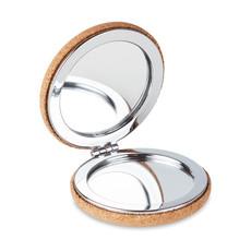Specchietto doppio in sughero colore beige MO9799-13