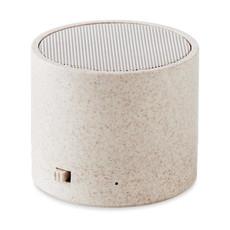 Speaker bluetooth in paglia colore beige MO9995-13
