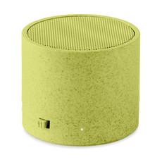 Speaker bluetooth in paglia colore verde MO9995-09