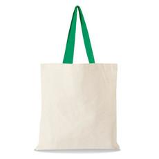 Shopper con manici colorati 220gr