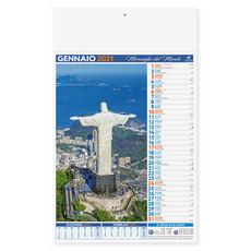 Calendario illustrato Città e Meraviglie del Mondo 2021