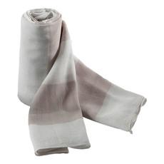 sciarpa bicolore