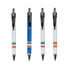 penna con bandiera tricolore