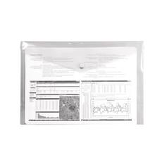 cartellina trasparente porta documenti