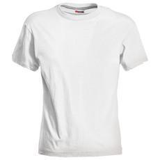 T-shirt manica corta bianca da donna Sand Payper