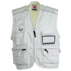 Gilet multitasche con piping reflex Pocket Payper