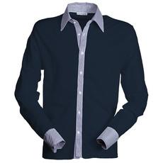 Polo piquet manica lunga con inserti a camicia Mirage Payper