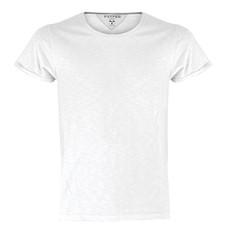 t-shirt bebè, manica corta, slubby jersey bianco Discovery Baby Payper