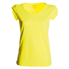 t-shirt donna manica corta slubby jersey fluo Discovery Lady Payper