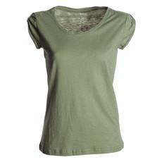 t-shirt donna manica corta slubby jersey  colorato Discovery Lady Payper
