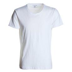 t-shirt manica corta slubby jersey bianco Discovery Payper