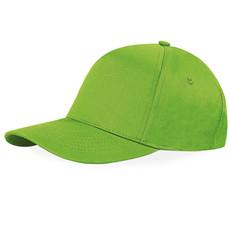 Cappello 5 pannelli ricamato