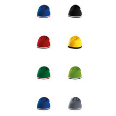 berretto con banda bicolore