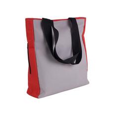 borsa spesa con tasca laterale